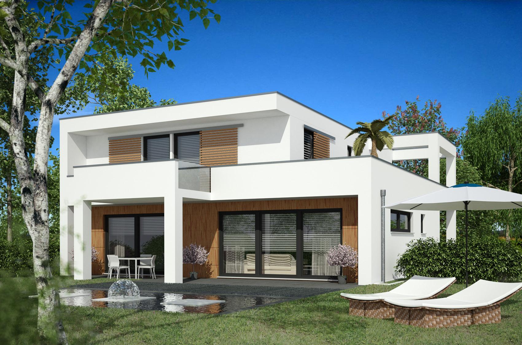 Fertigteilhaus modern for Fertighaus modern