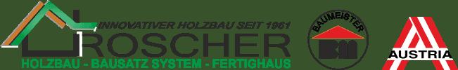 Holzbau Roscher | Bausatz System | Fertighaus